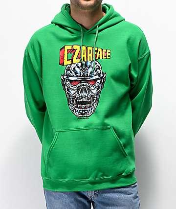 CZARFACE Metalhead sudadera con capucha verde