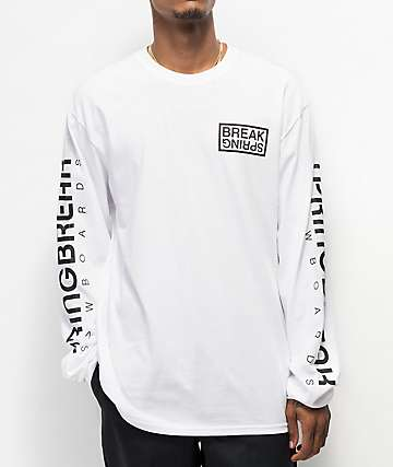 Capita Spring Break White Long Sleeve T-Shirt