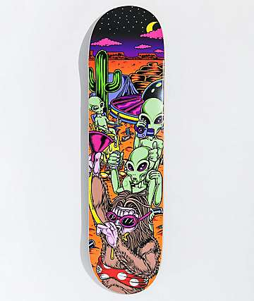 "Caravan Night Of The Desert Party 8.0"" Skateboard Deck"
