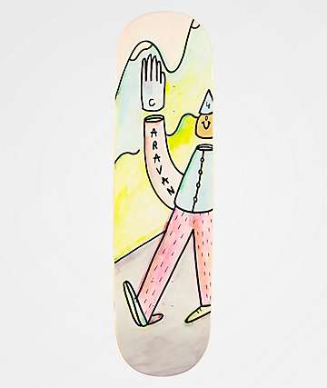 "Caravan The Wave 8.5"" Skateboard Deck"
