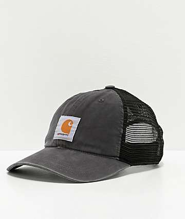 Carhartt Buffalo Black Trucker Hat