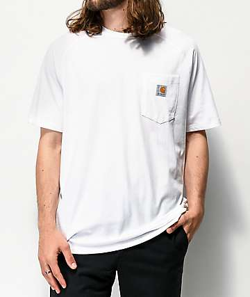 Carhartt Force White Pocket T-Shirt