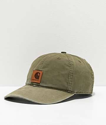 Carhartt Odessa Green Strapback Hat