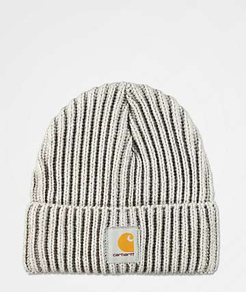 Carhartt Rib Knit Alabaster Heather Beanie