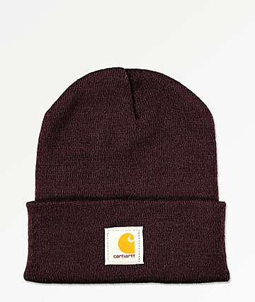 Carhartt Watch Deep Wine gorro