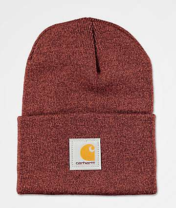Carhartt Watch Henna & Dark Cedar gorro