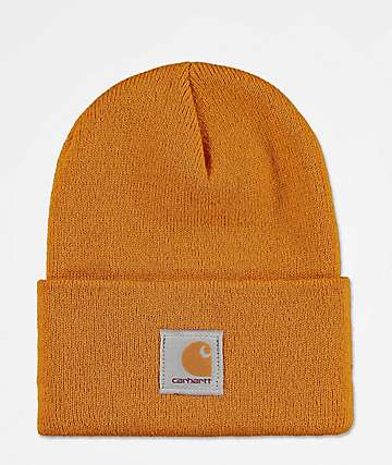 Carhartt Watch Hunter gorro dorado