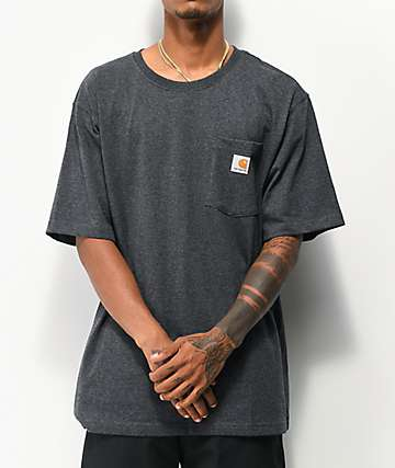 Carhartt Workwear Charcoal Pocket T-Shirt
