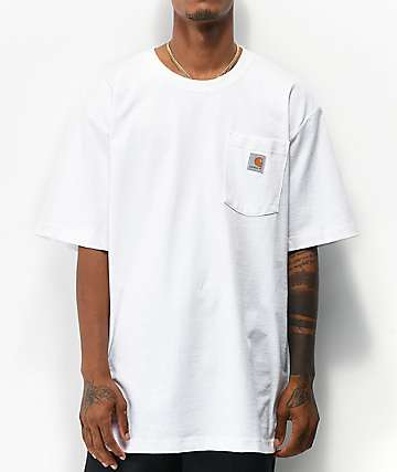 Carhartt Workwear White Pocket T-Shirt