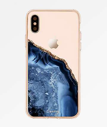 Casery Dark Blue Agate X Phone Case