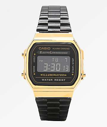 Casio Vintage Black & Gold