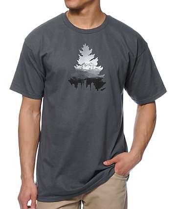 Casual Industree Johnny Tree Rainier Charcoal T-Shirt