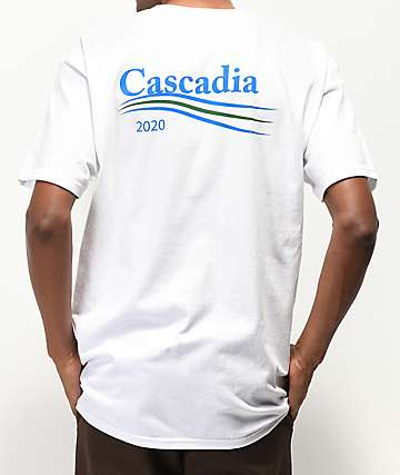 Casual Industrees Cascadia White T-Shirt