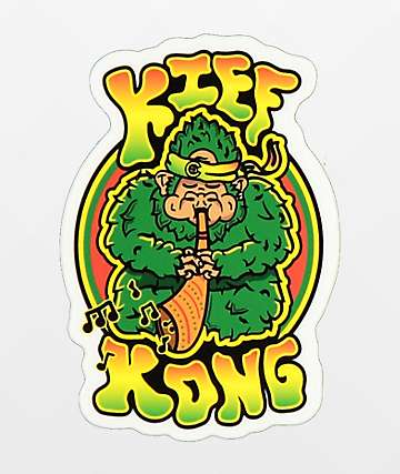 Casual Industrees Kief Kong pegatina