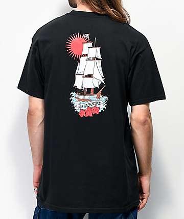 Casual Industrees Lady Washington camiseta negra