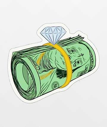 Casual Industrees Money Rolls pegatina