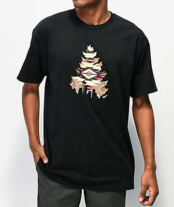 Casual Industrees Native Johnny camiseta negra