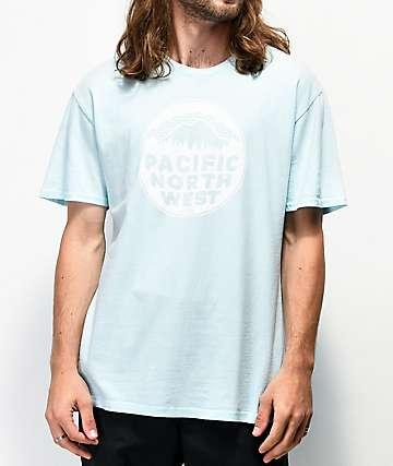 Casual Industrees PNW Patina Glacier Blue T-Shirt