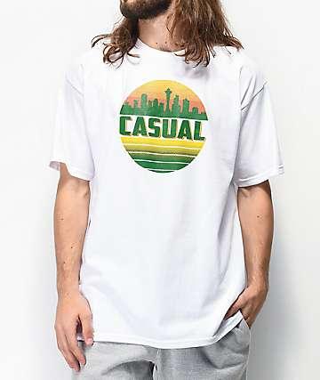Casual Industrees SEA Skyline camiseta blanca