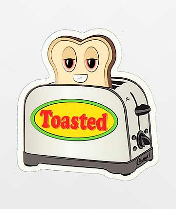 Casual Industrees Toasted Sticker