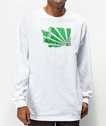 Casual Industrees WA Brah camiseta blanca de manga larga