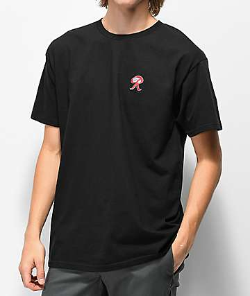 Casual Industrees x Rainier Embroidered R Black T-Shirt
