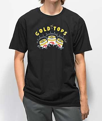 Casual Industrees x Rainier Gold Top Black T-Shirt