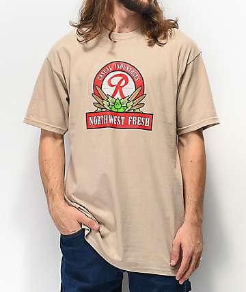 Casual Industrees x Rainier NW Fresh camiseta natural
