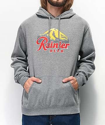 Casual Industrees x Rainier Rainbeer Grey Hoodie
