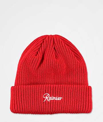 Casual Industrees x Rainier gorro rojo