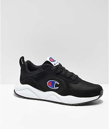 Champion 93 Eighteen Classic Black & White Shoes