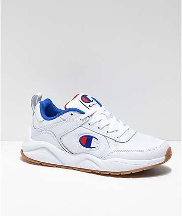 Champion 93 Eighteen Classic White Shoes
