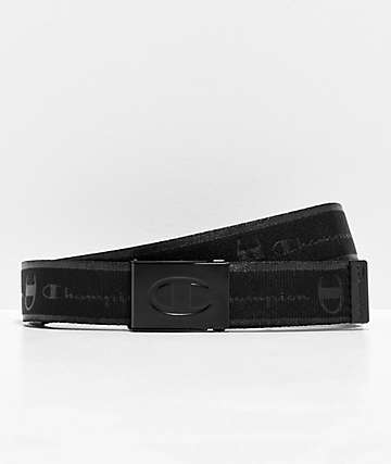 Champion Advocate Black Web Belt