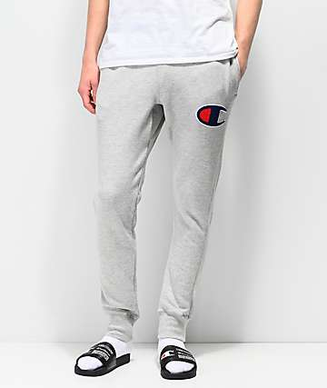 Champion Chainstitch Seal pantalones deportivos en gris oxford