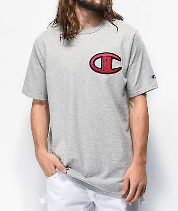 Champion Floss Stich C camiseta gris