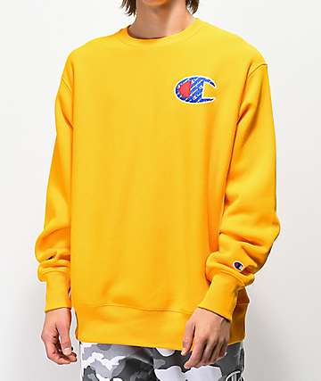 Champion GF70 Gold Crew Neck Sweatshirt