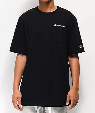 Champion Heritage Black Pocket T-Shirt