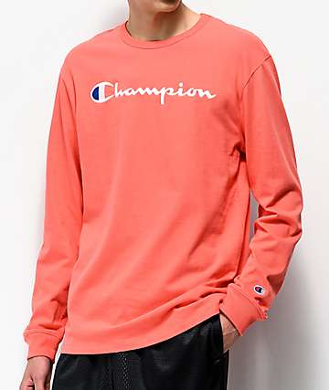 Champion Heritage Groovy Papaya camiseta de manga larga