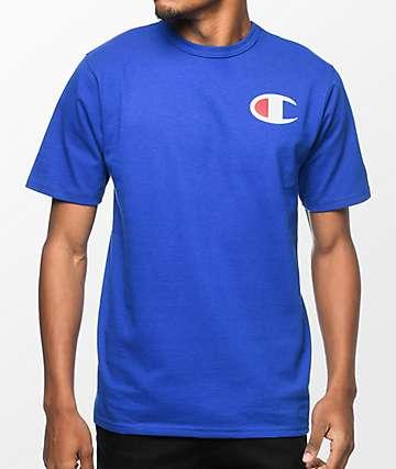 Champion Heritage Patriotic C Blue T-Shirt