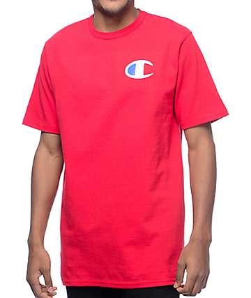 Champion Heritage Patriotic C Red T-Shirt