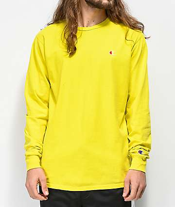 Champion Heritage Tart camiseta amarilla de manga larga