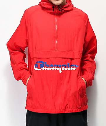 Champion Manorak chaqueta anorak escarlata