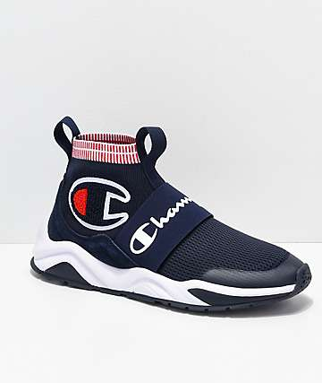 Champion Men's Rally Pro zapatos azul marino