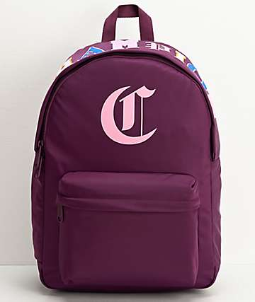 Champion Old C Dark Purple Backpack