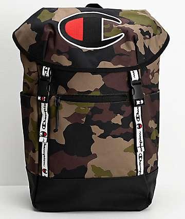 Champion Prime Top Load mochila de camuflaje