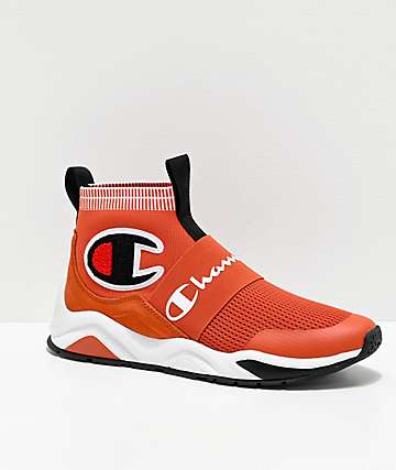 Champion Rally Pro Burnt Orange & Black Shoes