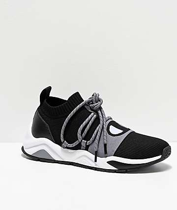Champion Rally Pro Hype Lo Black & Stealth Grey Shoes