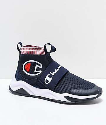 Champion Rally Pro zapatos en azul marino y blanco