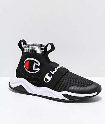 Champion Rally Pro zapatos negros y blancos