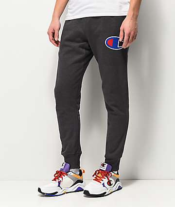 Champion Reverse Weave Chain Stitch Grey Jogger Sweatpants